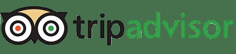 Il logo di TripAdvisor per le nostre recensioni